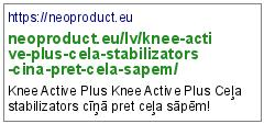 https://neoproduct.eu/lv/knee-active-plus-cela-stabilizators-cina-pret-cela-sapem/